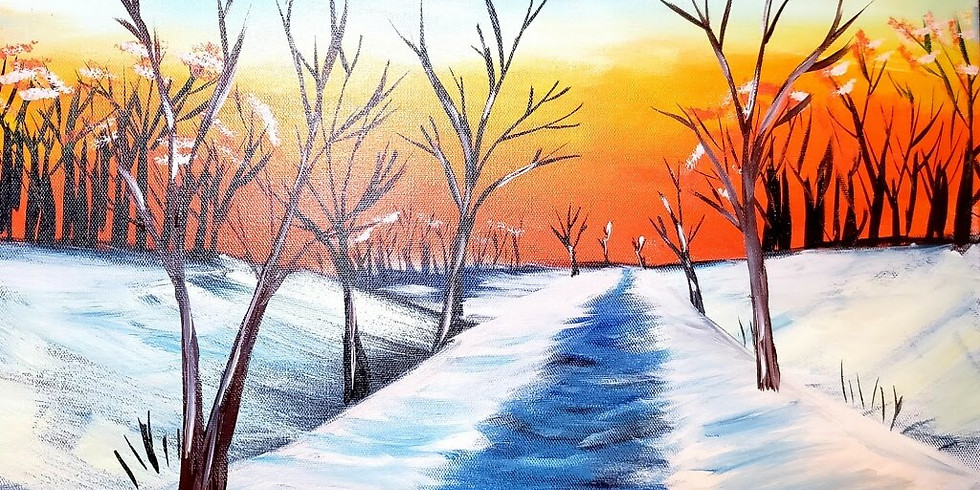 Warm Winter Paint Event + Swig Drinks