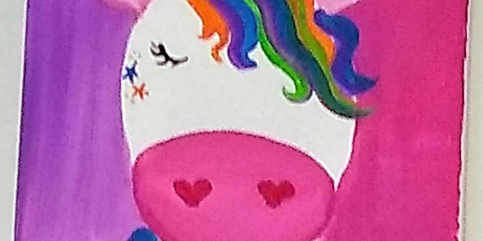 Unicorn Paint Event