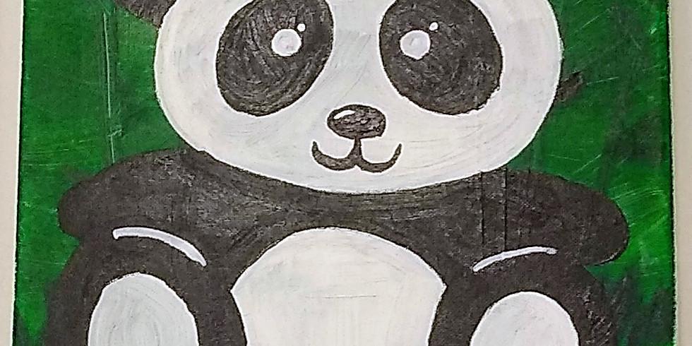 Panda Paint Event AT Pizza Pie Cafe (1)