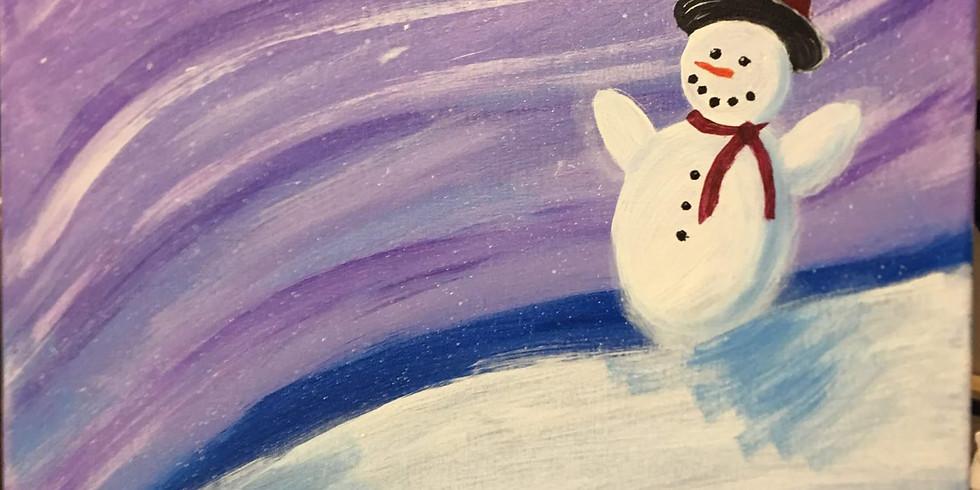 Paint Event Snowman