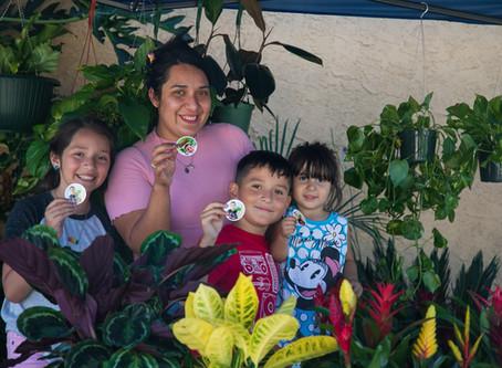 8 Year Old Entrepreneur:          Aaron's Garden