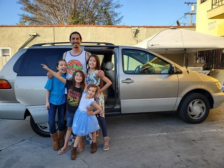 Local Hearts surprises family with new van!
