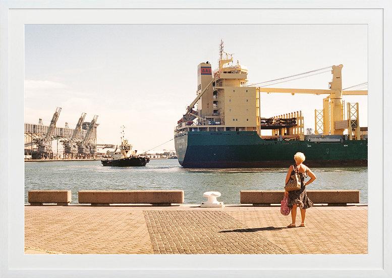 Newcastle Harbour Print