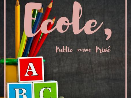 École : Public vs Privé