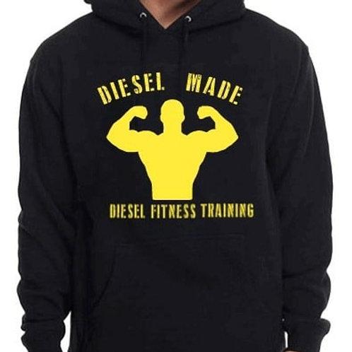 Diesel Made Hoodie Flex Yellow