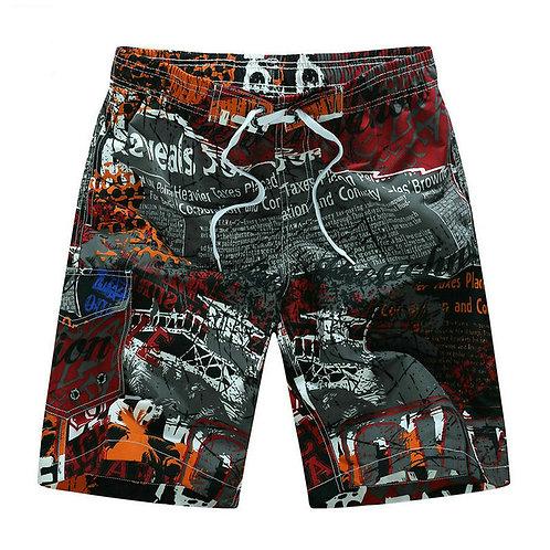 Hot Selling Printing Board Shorts Men Casual Summer Mens Beach Shorts M-5xl