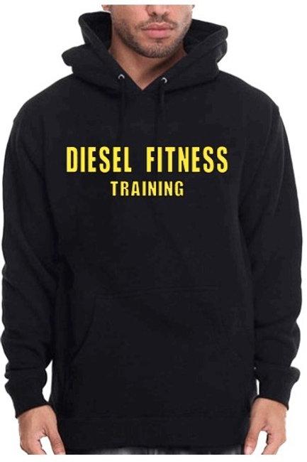Diesel Fitness Training Hoodie Block Yellow