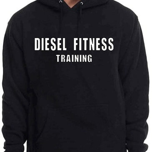 Diesel Fitness Training Hoodie Block White