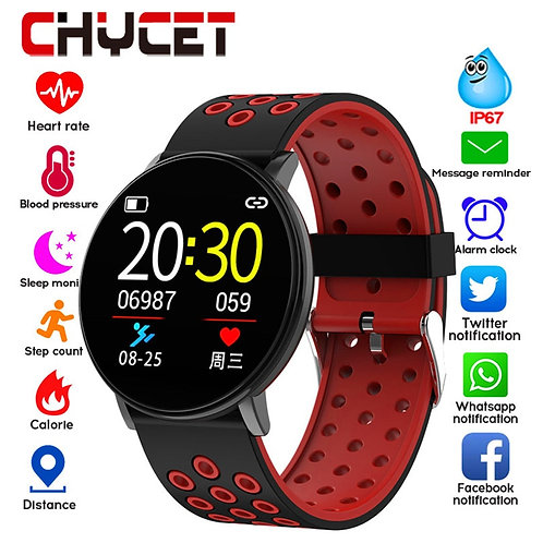 Waterproof IP67 Smart Band Watch Heart Rate Monitor Pedometer