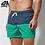 Thumbnail: Mens Board Shorts With Lining Drawstring Beachwear Sport Running Hybrid Shorts