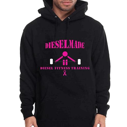 Diesel Made Hoodie Barbell Pink