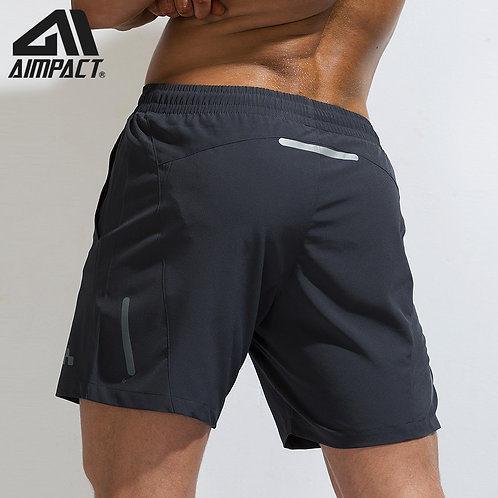 AIMPACT Men's Knee Length Fitness Quick Dry Beach Sportswear