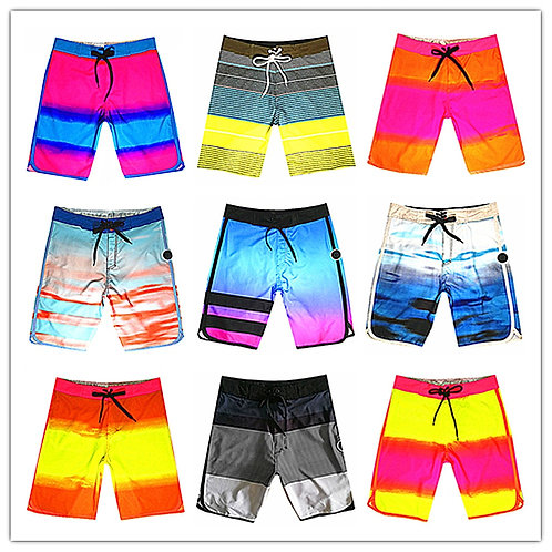 Phantom Brand Mens Board Short Swimwear 100% Quick Dry Elastic