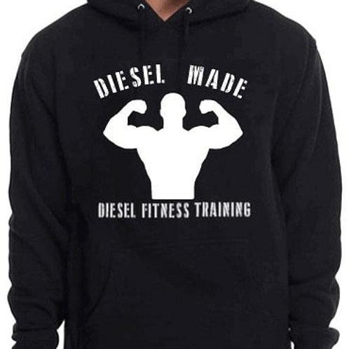 Diesel Made Hoodie Flex White