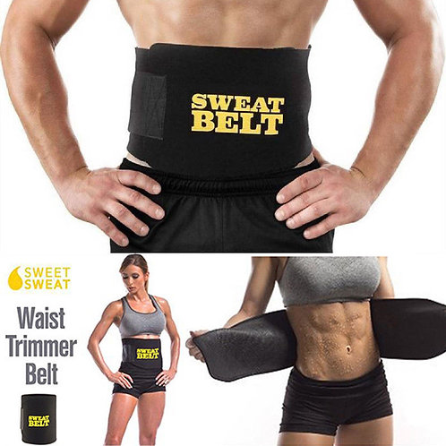 Women And Mens  Sweat Suit Body Sweat Belt Premium Waist Trainer Waist Belt