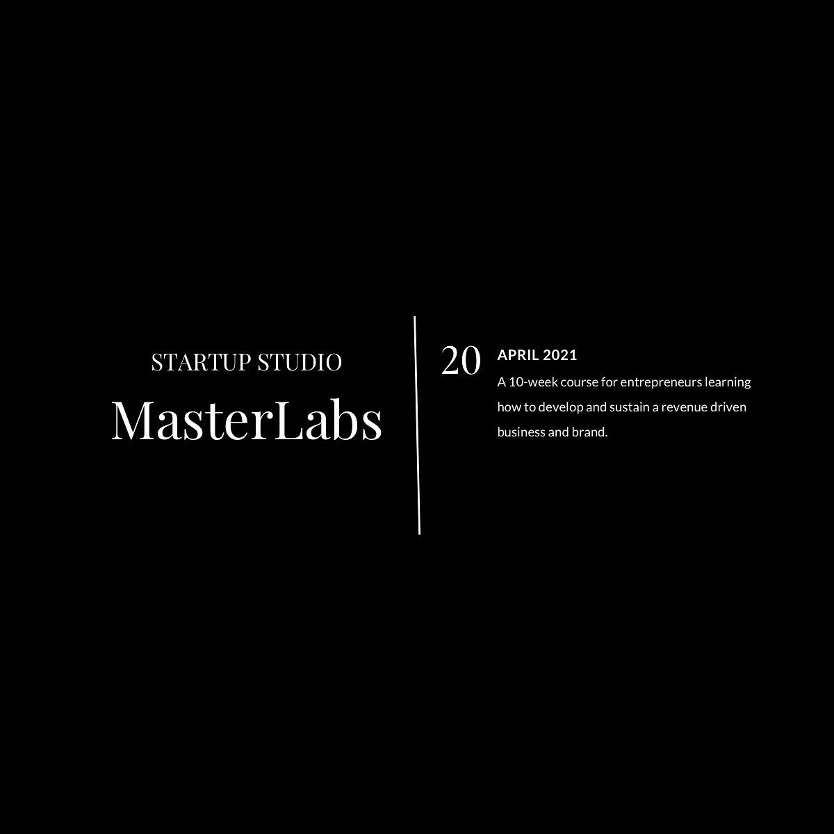 Startup Studio MasterLabs