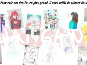 Prix Mangawa 2021 : les dessins du Club manga sont en ligne !