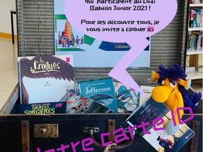 Défi Babelio Junior : la carte ID des 6eD est en ligne !