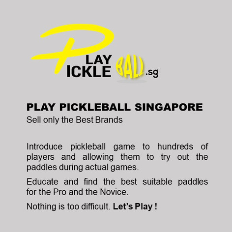 Play Pickleball Singapore