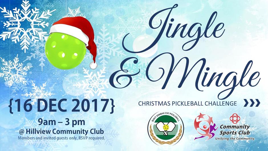 Jingle & Mingle Christmas Challenge