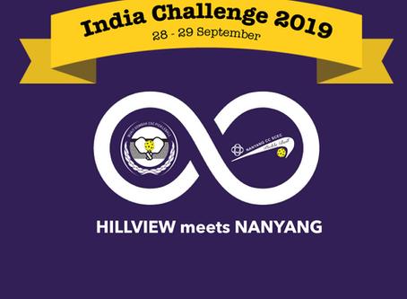 HILLVIEW meets NANYANG - India Challenge 2019