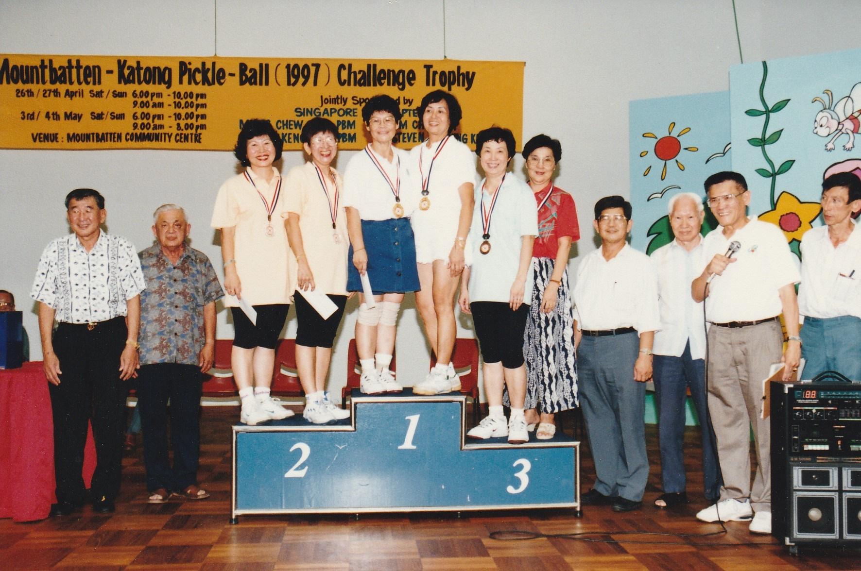1997 Challenge Trophy