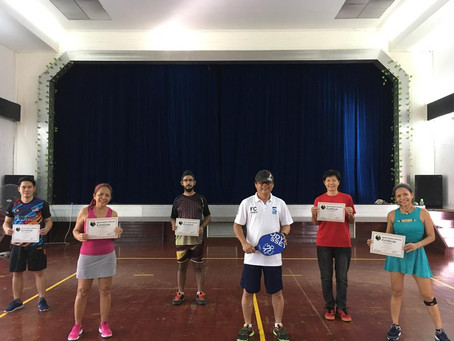 Malaysia Pickleball Association launched its MPA certified Pickleball Instructor Level 1 course