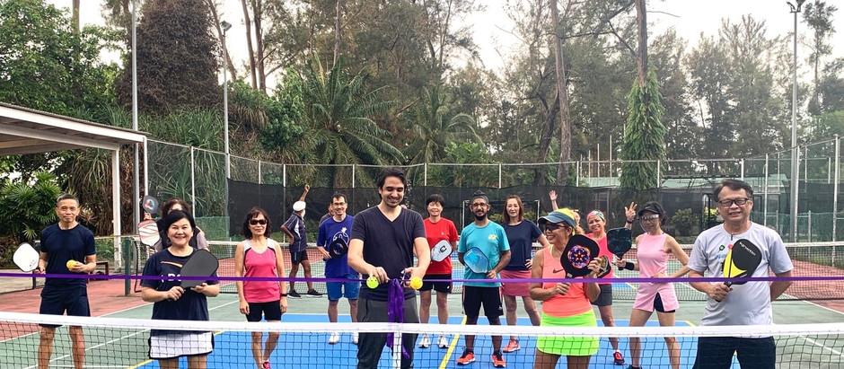 Piasau Boat Club Miri added 2 outdoor pickleball courts to cater for the new sporting sensation