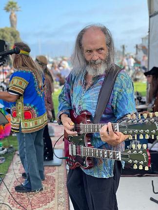psychedelic summer guitarist Brad Strickland