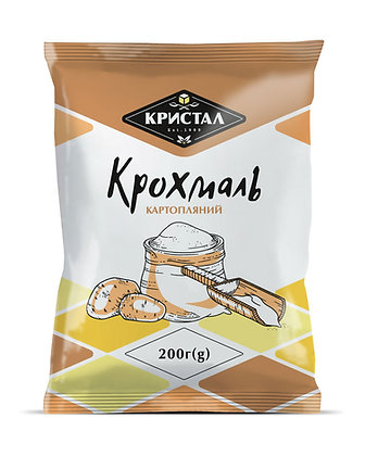 Крохмаль картопляний 200 / 350 г (g)