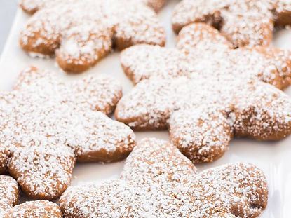 Легке печиво з цукровою пудрою