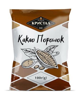 """Какао порошок """"Кристал"""" 100 г (g)"""