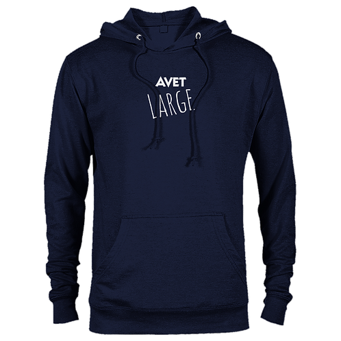 AVET Apparel - Premium 'AVET Large' Unisex Pullover Hoodie