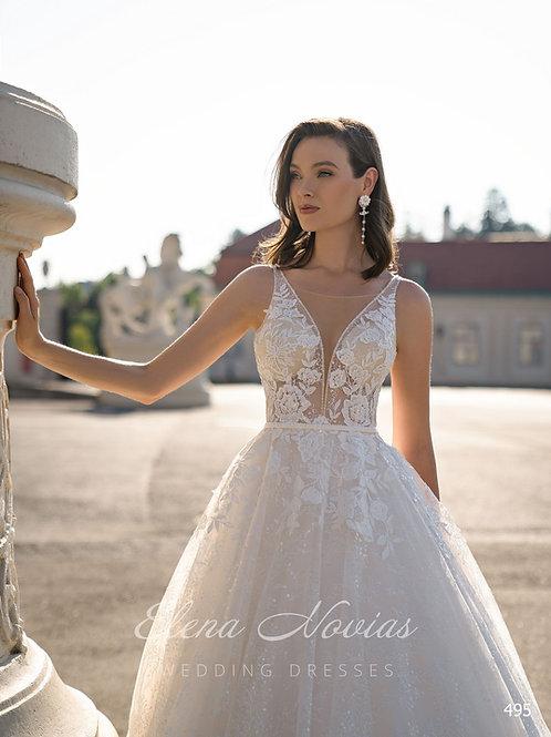 WEDDING DRESS 495