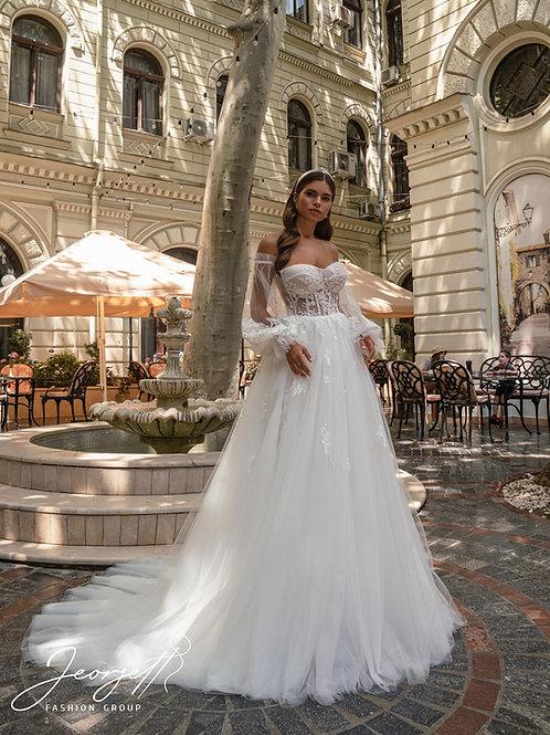 Wedding dress J-977