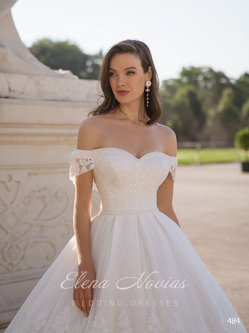 WEDDING DRESS 484