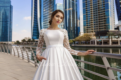 WEDDING DRESS 474