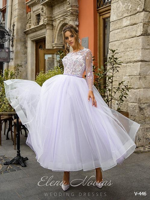 WEDDING DRESS V 446