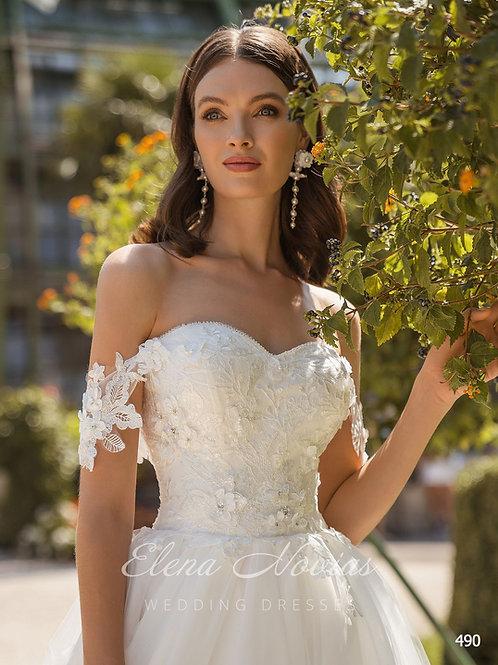 WEDDING DRESS 490