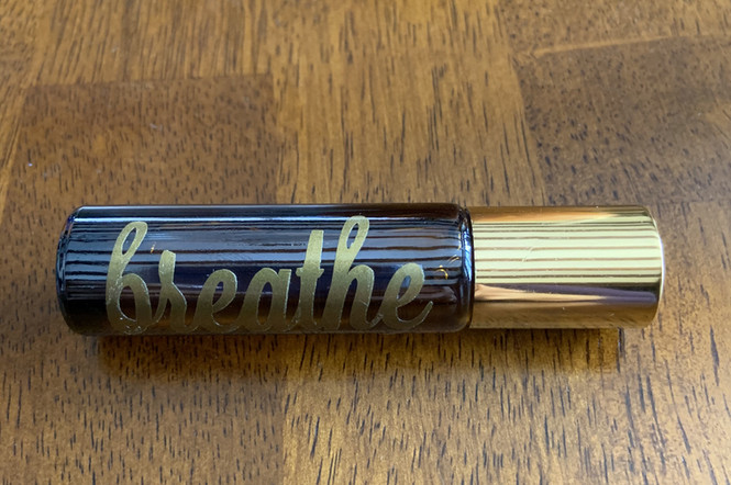Breathe essential oil rollerball