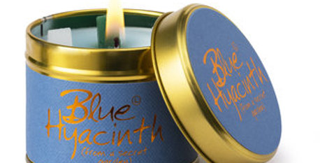 Lily Flame Blue Hyacinth Scented Candle