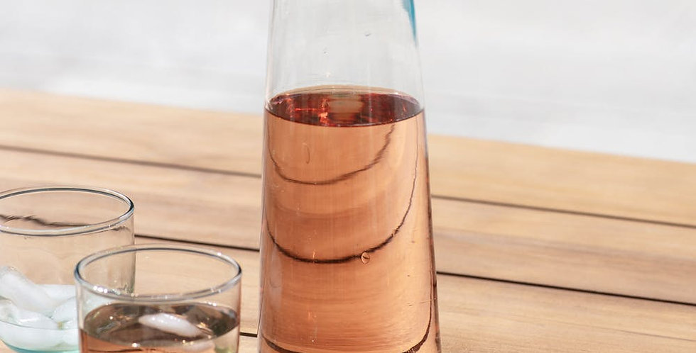 Meze Glass Wine Carafe