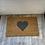 Thumbnail: Heart coir doormat