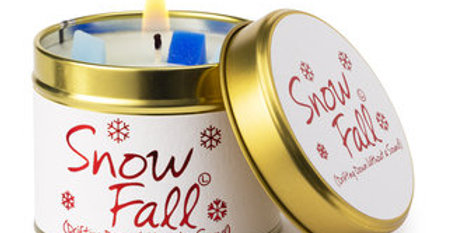 Lily Flame Snow Fall Scented Candle