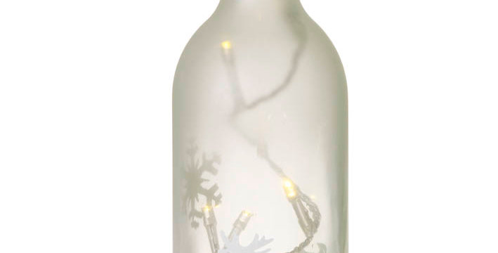 LED Deer Winter Light Bottle