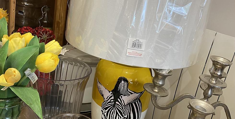 Zebra large lamp