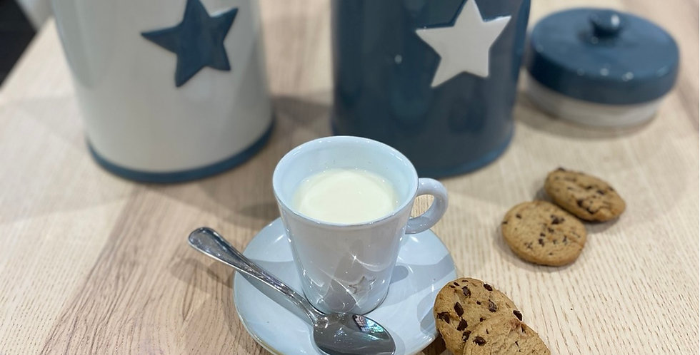 Star Cookie Jar blue