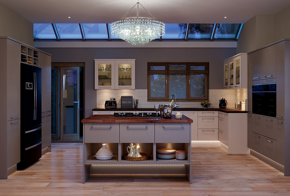 Picture of an Inline Design Studio professionally fitted kitchen