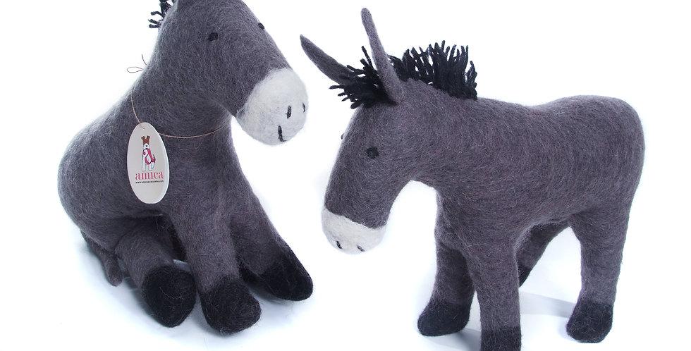 Large Felt Digby Donkey