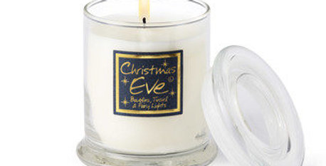 Lily Flame Christmas Eve Scented Glass Jar